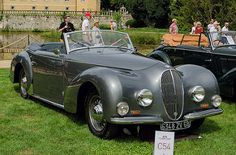 1948 Delahaye 135 M cabriolet by Graber
