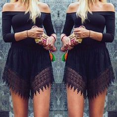 Women Lace Sexy Summer T-Shirt Top Blouse Romper Jumpsuit Playsuit Shorts in Clothing, Shoes & Accessories, Women's Clothing, Tops & Blouses | eBay