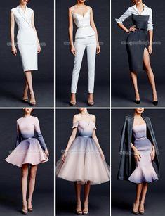 New Fashion 2017 Runway Dresses Ideas Dress Outfits, Fashion Dresses, Cute Outfits, Runway Fashion, Trendy Fashion, Womens Fashion, Fashion 2017, Style Fashion, Diy Mode