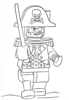 Lego Pirate Coloring Page From Pirates Category Select 27007 Printable Crafts Of Cartoons Nature Animals Bible And Many More