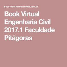 Book Virtual Engenharia Civil 2017.1 Faculdade Pitágoras