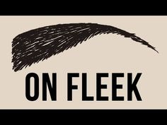 What Is On Fleek? - YouTube. Internet slang, slang linguist, slang historian.
