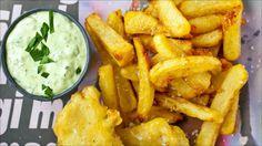 Fish and chips med torsk