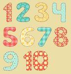 Vector Clip Art de Vintage, numbers, patchwork, set - Vintage, numbers, set,... csp9987511 - Buscar Clipart, Ilustración, Dibujos y EPS de Vector de imágenes gáficas