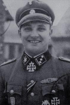 Waffen-Untersturmführer Roberts Ancāns (1919-1982), Führer Nahkampfschule Waffen-Feld Ersätz Batallion der 19. Waffen-Grenadier Division der SS (lett. Nr.2), Ritterkreuz 25.01.1945
