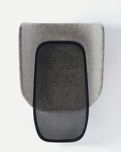 Lapso acoustic by Lesur & Venot. Best Authors, Furniture Upholstery, Acoustic, Black And Grey, Art Pieces, In This Moment, Products, Hammocks, Artworks