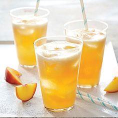 Bourbon-Peach Limeade | Cooking Light #partydrinks #bourbon