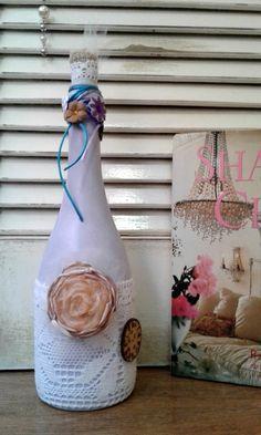 Garrafas decoradas by Atelierluzdefada on Etsy
