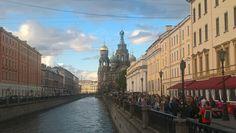 Clouds over Saint Petersburg
