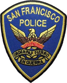 San Francisco Police Badge Head Embroidered Sew Iron on Patch by Ranger Return *** Check out the image by visiting the link. Police Patches, Iron On Patches, Porsche Logo, Appliques, Ranger, Craft Projects, San Francisco, Sewing, Logos