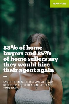 The average consumer has a referral-worthy experience with their real estate professional.   Click the pic for HUNDREDS of facts about home buyers and sellers.