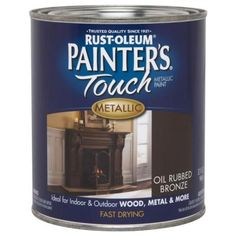 paint gutters to look oil rubbed bronze. Sneaky.