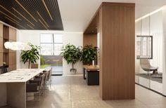 Интерьеры VIP этажа ВТБ банка