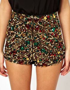 high waisted sequin shorts - Google Search