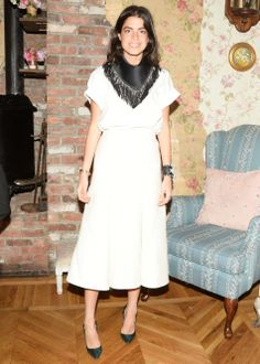Leandra Medine Roger Vivier, Inès de la Fressange, and Mira Duma Celebrate the Spring 2014 Collection