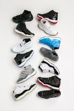 wholesale dealer 09e41 2d007 Air Jordan 11 Collection Guide