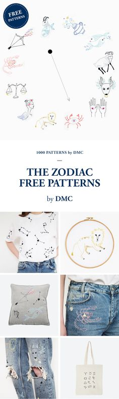 FREE EMBROIDERY PATTERNS by DMC.