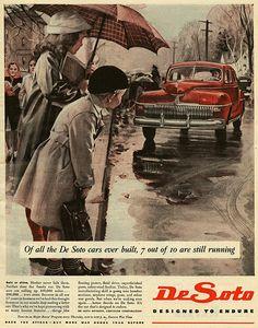 7 Out Of 10 De Sotos   WW2 ad for De Soto. I believe that's …   Flickr