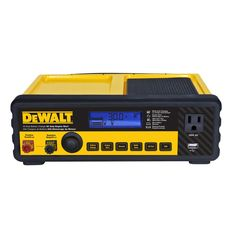 DEWALT DXAEC80 30 Amp Bench Battery Charger with 80 Amp Engine Start and 2 Amp Maintainer