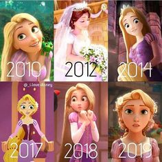 Cinderella Evolution 🏰👠👑 👉Please give credit when reposting as these are my edits!