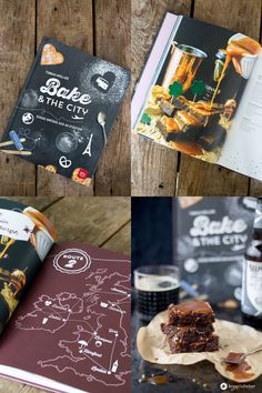 Stout Beer Brownies Rezept und Bake and the City Rezension Kreativfieber