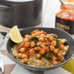 Recipe | Spicy Chickpea & Spinach Stew