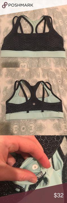 40c64410ac lululemon sports bra size 8 lululemon sports bra. Size 8. Comes with  removable bra