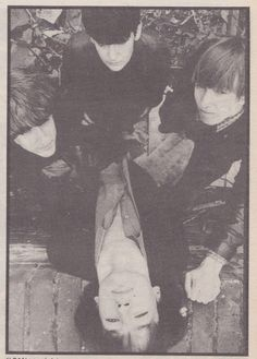 "My Bloody Valentine -- July 1986 (from Sounds 'zine ""Geek!"" interview)."