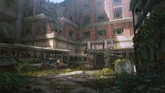 The Last Of Us concept art | Nick Gindraux (click source for more!)