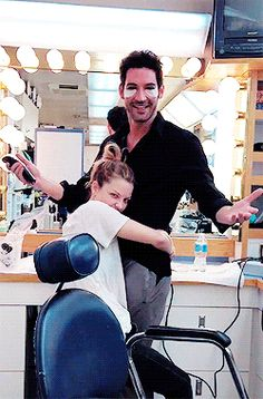 Tom Ellis & Lauren German xD