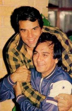 with Dharmendra