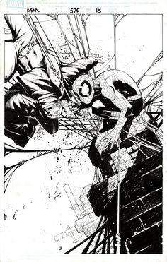 Amazing Spiderman #575 Pg18   Chris Bachalo