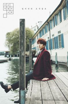 Kyuhyun gets into the autumn mood in even more teaser images! | allkpop.com| so beautiful
