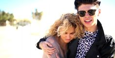 f84411a3d9f Ray Ban Clubmaster sunglasses in PAPER HEARTS by Tori Kelly (2014)   raybanofficial Sunglasses