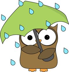 Owl in the Rain  http://www.mycutegraphics.com/graphics/rain/owl-in-the-rain.html