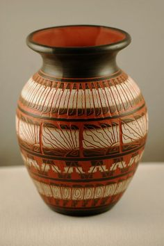 Quality Native American Pottery. Navajo Pottery.