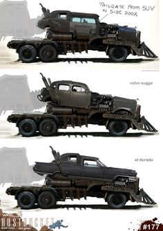 ArtStation - Mad Max: Fury Road - War Rig, WETA WORKSHOP DESIGN STUDIO