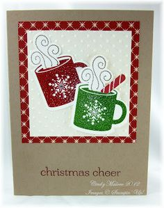 Cindy's warming card features Scentsational Season, Sweet Essentials, Be of Good Cheer dsp, Holiday framelits, & more.