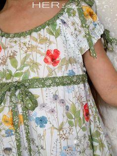 HER Little world, Patron de couture pour vêtement enfant, Robe Bucolique