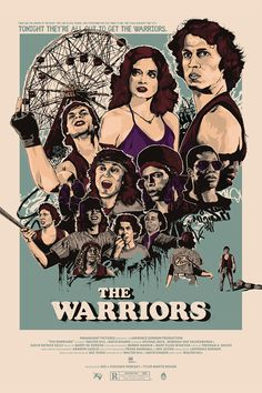 The Warriors Archives - Home of the Alternative Movie Poster -AMP-
