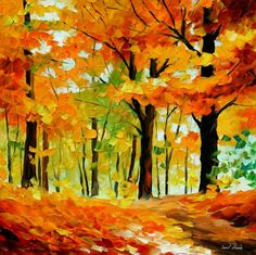 Fall Mood by Leonidafremov