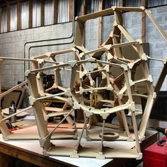 A little family of Voronoi Bookshelves ready to ship out to the world. #herodesign