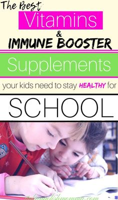 Immune Boosting Vitamin Kit for Kids Best vitamins for kids! Looking for ways to keep your kids healthy this school year? Check out the best vitamins and immune booster supplements for kids! All natural and organic vitamins that actually work! Best Vitamins For Kids, Best Probiotics For Kids, Healthy Kids, How To Stay Healthy, Healthy Living, Intim Tattoo, Anti Aging, Fitness Motivation, Kids Health