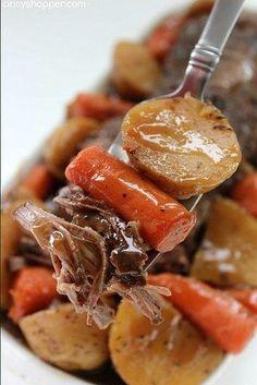 Slow Cooker Pot Roast | 24 Dump Dinners You Can Make In A Crock Pot