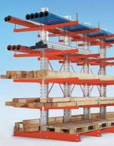 5 layers cantilever rack