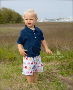 BOYS SHORTS choose your fabric - sailboats, plaids, crabs, nautical, surfboards, whales - sizes 12mo, 18mo, 2, 3, 4, 5