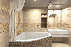 Неоклассическая ванная   светлая ванная комната   дизайн ванной  золотая лиана в ванной   Концептуальный дизайн   Ron's Сoncept   Вероника Дзюба   Частные интерьеры