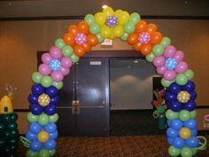 arco de globos   Imagenes De Globos En Formas De Arcos