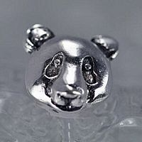 panda charm bead for jewelry real sterling silver 925 Real Sterling silver 925 pendant Charm jewelryLike this item find it at https://www.etsy.com/shop/princeofdiamonds