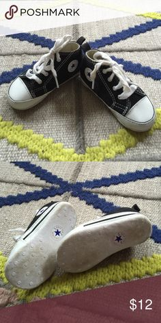Converse Soft Baby Shoe Really cute soft soled Chuck Taylor's. Worn a handful of times but in really great shape! Converse Shoes Baby & Walker